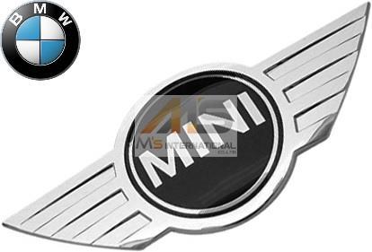 【M's】R56/R57/F55/F56/R50/R52/R53 BMW ミニ 純正品 トランクエンブレム//正規品 MINI リアエンブレム バッチ ワン/ワンD/クーパー/クーパーS/クーパーD/カブリオ/コンバーチブル/JCW 5114-7026-186 51147026186