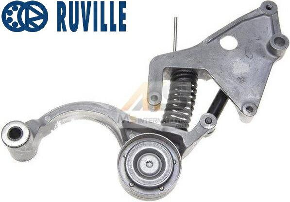 【M's】 R52 R53 BMW ミニ クーパーS/JCW/GP(2001y-2006y)RUVILLE ファンベルトテンショナー//純正OEM ベルトテンショナー MINI 1128-7509-476 11287509476 1128-8620-210 11288620210