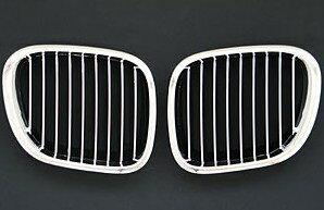 【M's】E40 BMW Z3(全年式)フロントグリル(クローム/ブラック)0233 受注生産商品 納期約3週間〜 新品