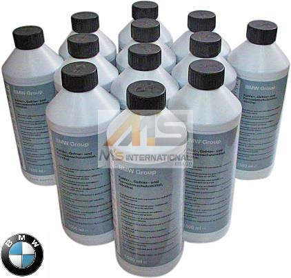 【M's】BMW 純正品 LLC アンチフリーズ クーラント 冷却水 1.5L(12本)//8319-2211-194 83192211194 1シリーズ 2シリーズ 3シリーズ 4シリーズ 5シリーズ 6シリーズ 7シリーズ 8シリーズ X1 X3 X5 X6 Z3 Z4 ミニ