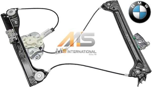 【M's】E86/E85 BMW Z4(03y-08y)純正品 ウィンドーレギュレーター(右側)/正規品 パワー ウインドーレギュレター ロードスター クーペ 5133-7198-910 51337198910