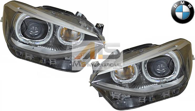 【M's】F20 F21 BMW 1シリーズ 前期(2011y-2015y)純正品 バイキセノン ヘッドライト 左右//正規品 HID ライト バイキセノンライト 116i 120i M135i 6311-7296-911 6311-7296-912 63117296911 63117296912 日本仕様 左側通行用
