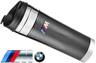 【M's】純正品 BMW M ステンレス タンブラー(470ml)//BMW M Tumbler カーボングラファイト 汎用アクセサリー 水筒 275958