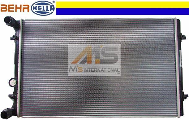 【M's】VW ゴルフ4 ゴルフ5 ボーラ(1998y-2006y)BEHR_HELLA製 ラジエーター//純正OEM 1J0-121-253S 1J0121253S フォルクスワーゲン ラジエター