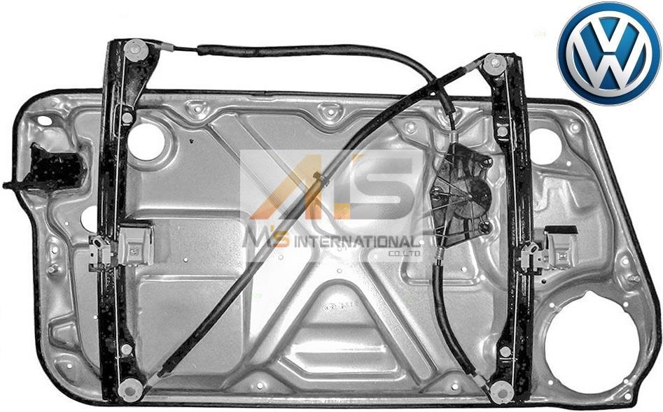 【M's】VW ニュービートル 9C(98y-10y)純正品 パワー ウインドーレギュレーター(右側)//正規品 ウィンドーレギュレター 1C0-837-656C 1C0837656C