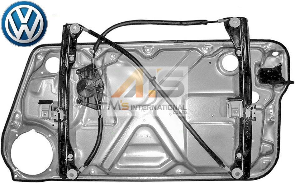 【M's】VW ニュービートル 9C(98y-10y)純正品 パワー ウインドーレギュレーター(左側)//正規品 ウィンドーレギュレター 1C0-837-655C 1C0837655C