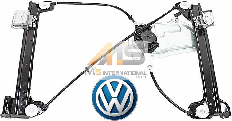 【M's】VW ニュービートル カブリオレ(03y-10y)純正品 ウインドーレギュレーター(左側)//正規品 New Beetle L ウィンドーレギュレター 1Y0-837-461F 1Y0837461F