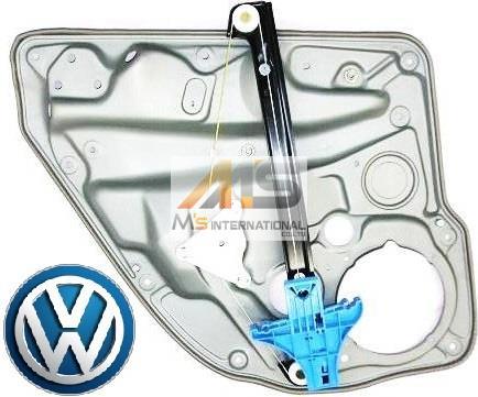 【M's】VW ゴルフ4(1J)純正品 リア(右側) ウィンドーレギュレーター//正規品 リヤ ウインドーレギュレター リフター GOLF4 1J4-839-462F 1J4839462F