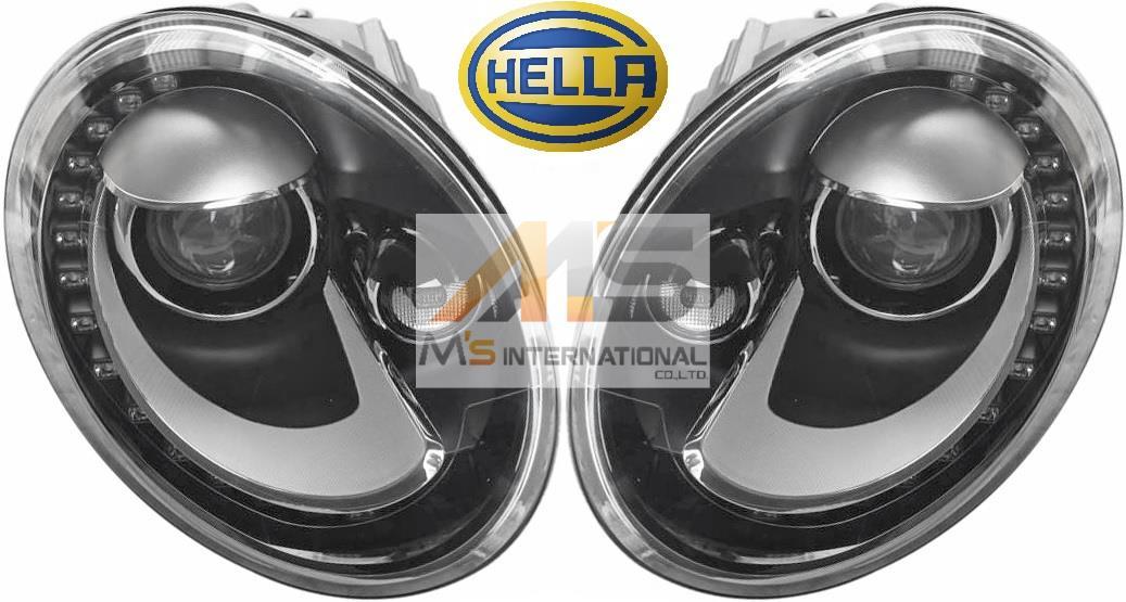 【M's】VW ザ・ビートル 5C/16C/16CBZ(2012y-)HELLA製 キセノン ヘッドライト 左右(右ハンドル車用)//社外品 ヘラ キセノンライト OEM HID The Beetle カブリオレ 5C2-941-031B 5C2-941-032B 5C2941031B 5C2941032B