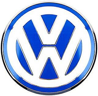 【M's】VW ニュービートル 9C 前期(1998y-2005y)純正品 リアエンブレム 回転無タイプ(ブルー/ホワイト)//正規品 New Beetle ビートル リア トランク リアゲート エンブレム 青/白 1C0853630L39A
