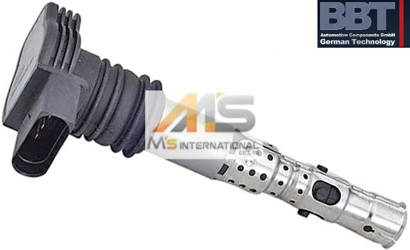 【M's】アウディ AUDI A6(4B)TT(8N)BBT製・他 イグニッションコイル(1本)//純正OEM 06A-905-115D 06A905115D 06B-905-115R 06B905115R