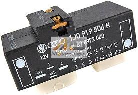 【M's】VW ニュービートル(9C/1Y)電動ファンコントロールユニット(リレーユニット)//純正OEM フォルクスワーゲン NEW BEETLE 1J0-919-506K 1J0919506K