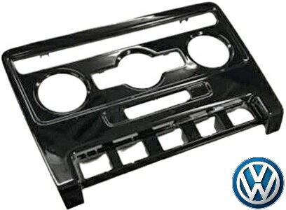 【M's】VW ザ・ビートル(2012y-)純正品 グロスブラック エアコンパネル(オートエアコン用)//フォルクスワーゲン VOLKSWAGEN The Beetle 5C/16C/16CBZ 251143