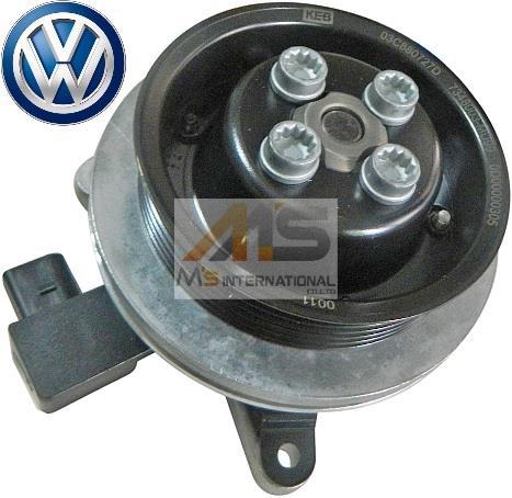 【M's】VW シャラン(7N)/ティグアン(5N)/ トゥーラン(1T)1.4TFSI 純正品 ウォーターポンプ (ガスケット付)//正規品 フォルクスワーゲン VOLKSWAGEN 03C-121-004J 03C121004J