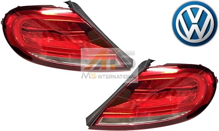 【M's】VW ザ・ビートル(2012y-)純正品 DUNE仕様 LED テールレンズ 左右セット(レッド)//正規品 デューン The Beetle カブリオレ テールライト テールランプ LEDテール 033500