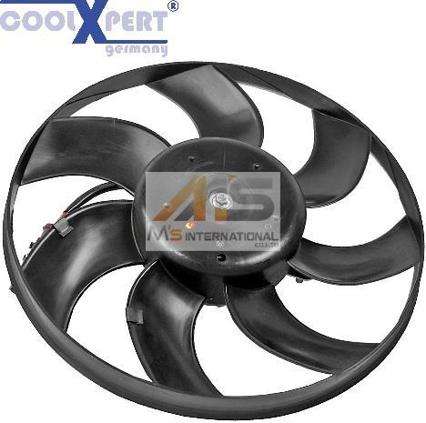 【M's】アウディ A1(8X)/A3(8P)COOLEXPERT ラジエター 電動ファン//AUDI 純正同等品 ラジエーター ブロアファンモーター アディショナルファン 1K0-959-455ES 1K0959455ES