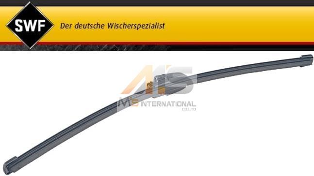 【M's】VW ゴルフ5(04y-09y) ポロ(02y-10y) ティグアン(08y-12y)SWF製・他 リア ワイパーブレード 1個//フォルクスワーゲン VOLKSWAGEN GOLF5 POLO TIGUAN リヤ 6Q6-955-425A 6Q6955425A