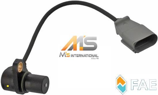 【M's】VW イオス(1F) ゴルフ5(1K) ジェッタ(1K) パサート(3C) FAE社製・他 クランク角センサー//純正OEM クランクカクセンサー クランクセンサー クランクポジションセンサー クランクシャフトポジションセンサー フォルクスワーゲン 06A-906-433K 06A906433K