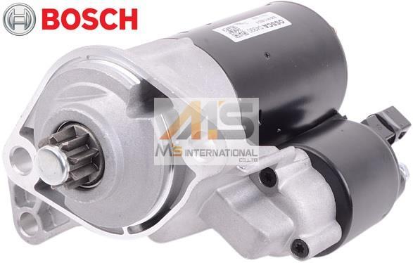 【M's】VW ゴルフ3 ヴェント(1H) ゴルフ4 ボーラ(1J) ポロ(6R)BOSCH製・他 セルモーター//純正OEM ボッシュ スターター フォルクスワーゲン 020-911-023F 020911023F