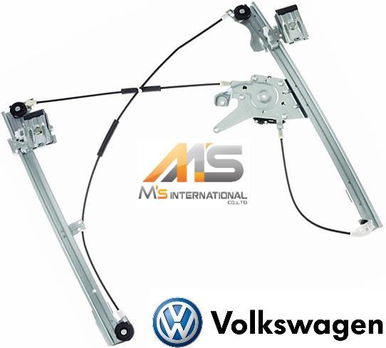 【M's】VW ゴルフ3 1H/1E (1992y-1997y) フロント パワーウィンドーレギュレーター (右側)//フォルクスワーゲン GOLF3 優良社外品 ウィンドーレギュレター 右前 1H0-837-462A 1H0837462A