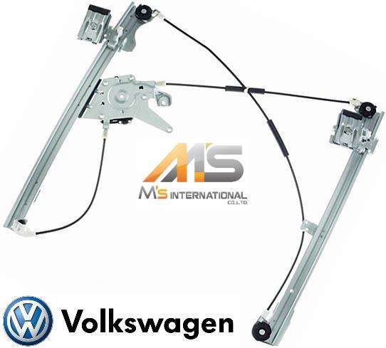 【M's】VW ゴルフ3 1H/1E (1992y-1997y) フロント パワーウィンドーレギュレーター (左側)//フォルクスワーゲン GOLF3 優良社外品 ウィンドーレギュレター 1H0-837-461A 1H0837461A