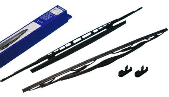 【M's】VOLVO ボルボ V70(285)S60 S80 XC70 XC90(99y〜04y)純正品 フロントワイパーブレードセット新品