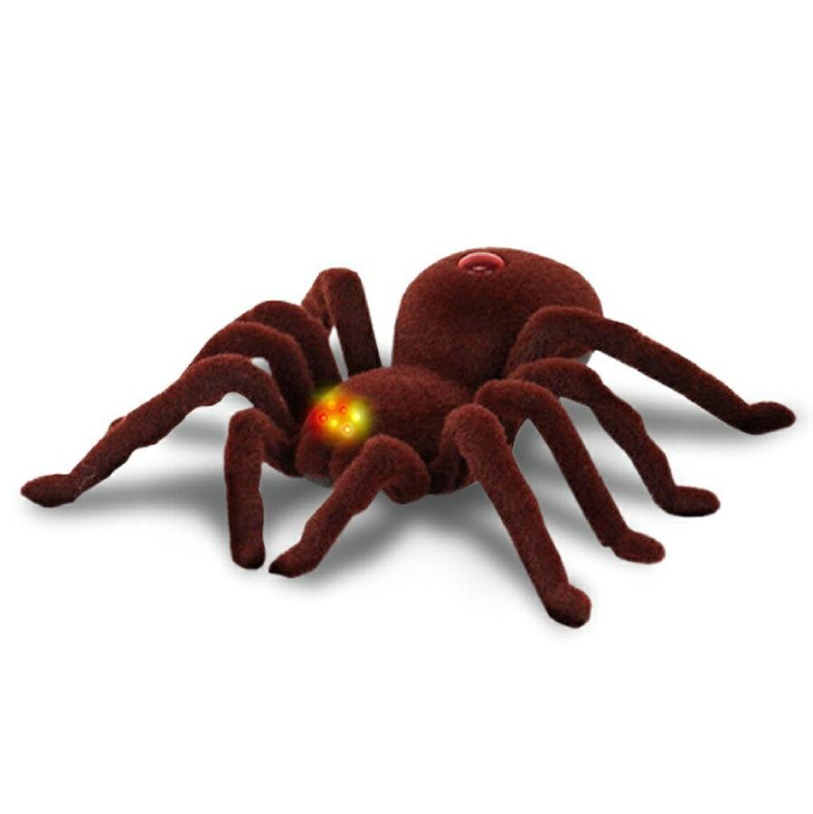 【M's】クモ 型 ラジコン / リアルな毒グモ / いたずら ドッキリに最適 17cmのビッグサイズ! / リモコン タランチュラ ロボット 毒蜘蛛