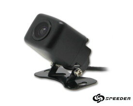 【M's】バックカメラ 12V 後付け 車載用 / 角型 防水 防塵 高画質 CCD 170°広角 カメラ / 目立たず 取り付け ミニサイズ