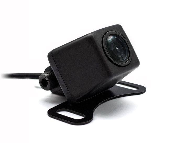 【M's】暗くても見える バックカメラ 防水 42万画素 高画質 イメージセンサー搭載 角型 広角 170°/ OV7659 CMD 12V 防塵 後付け カメラ 車載用