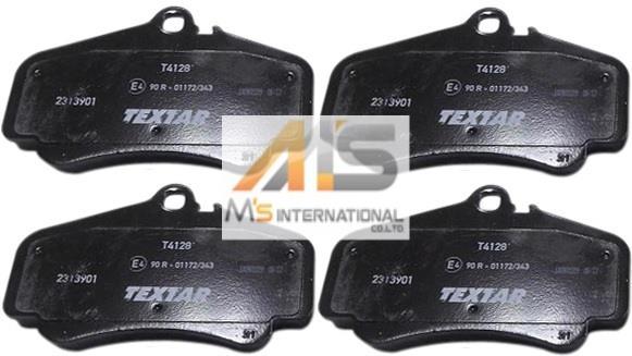 【M's】ポルシェ 996 GT3 997 CARRERA ブレーキパット フロント 996-351-949-10 99635194910 2313901 TEXTAR 社外品 新品