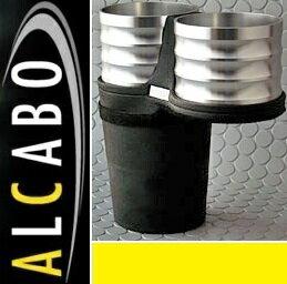 【M's】ポルシェ マカン 95B(2014y-)ALCABO ドリンクホルダー(シルバー カップタイプ)//アルカボ カップホルダー PORSCHE Macan AL-P203S ALP203S