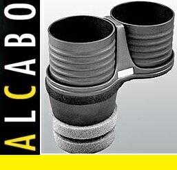【M's】ポルシェ カイエン 958(2010y-)ALCABO ドリンクホルダー(ブラック カップタイプ)//アルカボ カップホルダー PORSCHE AL-M312B ALM312B
