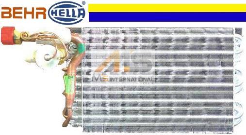 【M's】ポルシェ 911 930/924/944(1967y-1989y)BEHR_HELLA製 エアコン A/C エバポレーター(ノンターボ用)//純正OEM PORSCHE 901-573-907-00 90157390700