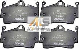【M's】ポルシェ 911 996 997(カレラ/タルガ)TEXTAR製 リア用 ブレーキパッド(左右)//純正OEM テクスター PORSCHE リアブレーキパット ディスクパット 987-352-939-01 98735293901 24541-01 2454101 99705 99666 99603