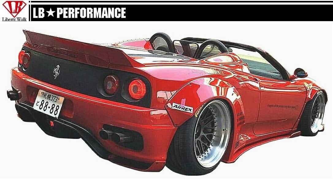 【M's】 フェラーリ 360 モデナ/F1/スパイダー/ リア ウイング ver.2(ダックテール)/ LB PERFORMANCE エアロ // トランクスポイラー リヤ FRP/LB WORKS/Liberty Walk/リバティウォーク/Ferrari F360