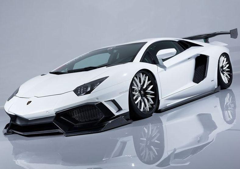 【M's】 ランボルギーニ アヴェンタドール カーボン フル エアロ 5点 セット/AIMGAIN GT/エイムゲイン//フロント バンパー & スプリッター/サイド スポイラー/リア ディフューザー/ステルス GTウイング/Lamborghini Aventador Perfect Body Kit