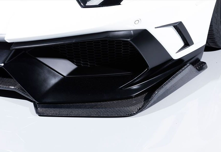 【M's】 ランボルギーニ アヴェンタドール フロント スプリッター / AIMGAIN GT / エイムゲイン エアロ // Lamborghini Aventador F ディフューザー