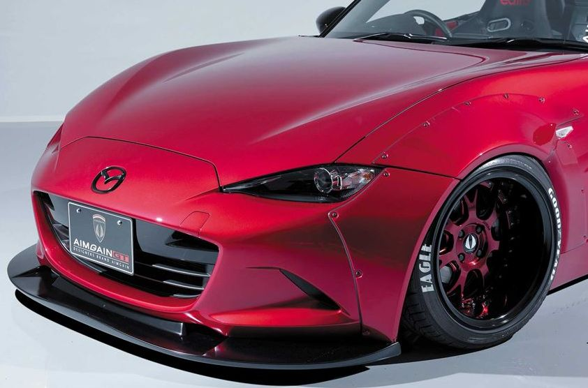 【M's】 マツダ ND ロードスター フロント アンダー スポイラー / AIMGAIN GT / エイムゲイン エアロ // フロント リップ / MAZDA ND5RC ROADSTER MX-5 / front under spoiler