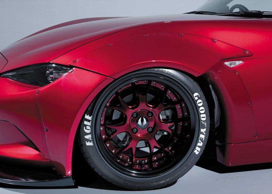 【M's】 マツダ ND ロードスター フロント オーバー フェンダー / AIMGAIN GT / エイムゲイン エアロ // ワイドフェンダー / MAZDA ND5RC ROADSTER MX-5 / front wide fender over