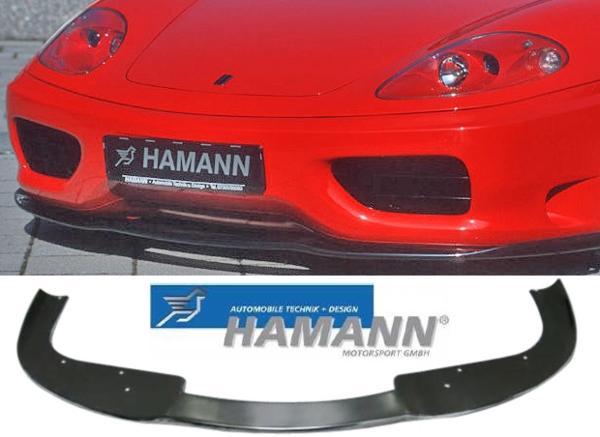 【M's】フェラーリ F360 HAMANN製 フロントスポイラーリップ FRP 10360100 Ferrari モデナ スパイダー ハーマン 新品