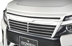 【M's】 トヨタ 80ヴォクシー 前期 ZS(H26.1-H29.6)フロントグリル / ROWEN/ロエン エアロ // TOYOTA VOXY ZR grade ZRR 80W 85W/ZWR80W 1T013C00 / 2.0 1.8 ハイブリッド / ラジエーター グリル