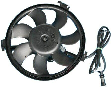 【M's】アウディA4 A6 A8〜VW パサート・シャラン/電動ファンモーターAssy アディショナルファン新品