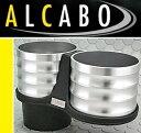【M's】 アウディ TT 8J(06y-15y) ALCABO ドリンクホルダー(シルバー)//ツインタイプ AL-B108S ALB108S アルカボ カッ...