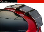 【M's】トヨタプリウス50系スワンネックGTウイング/KUHLRACINGエアロ//リアウィングスポイラー/クールレーシング/新型TOYOTAPRIUSZVW5#