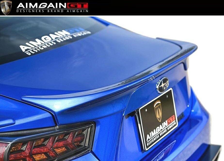 【M's】SUBARU BRZ 前期(2012.3-2016.7)トランク スポイラー / AIMGAIN GT/エイムゲイン エアロ // TRUNK SPOILER / スバル ZC6 リア ウイング