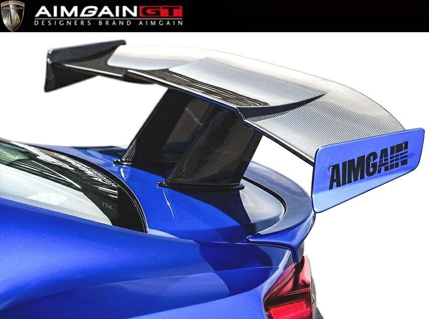 【M's】SUBARU BRZ 後期(H28.8-)カーボン GT ウイング 1,700mm / AIMGAIN GT/エイムゲイン エアロ // CARBON GT WING / スバル ZC6