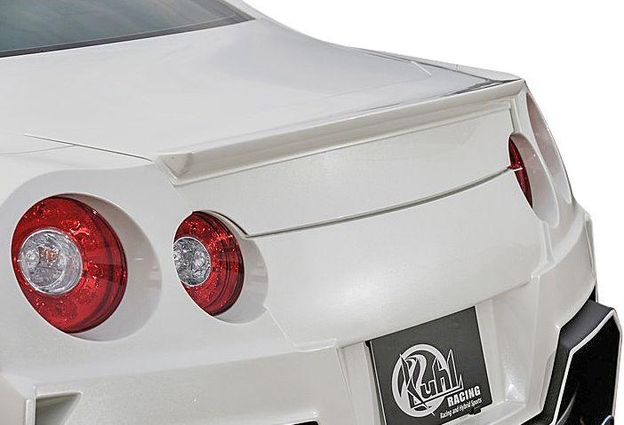 【M's】日産 GT-R R35 専用 KUHL RACING 製 トランクスポイラー //クール レーシング エアロ ウイング NISSAN 新品