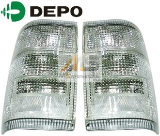 TOYOTA Hilux surf 130 series manufactured by DEPO taillights Algeria (left and right and rear tires for) / / Toyota Hilux Surf Depot outside products tail light rear high quality CR Xian aims popular new