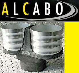 【M's】トヨタ プリウス 30系(ZVW30)ALCABO ドリンクホルダー(シルバー カップタイプ)//アルカボ カップホルダー アルミ TOYOTA PRIUS プリウス30 AL-T116S ALT116S