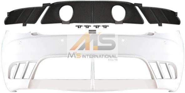 【M's】マセラティ グランツーリズモ(07y-)純正品 グランツーリスモ MCストラダーレ リアバンパー//正規品 Maserati GranTurismo ウレタン 3630